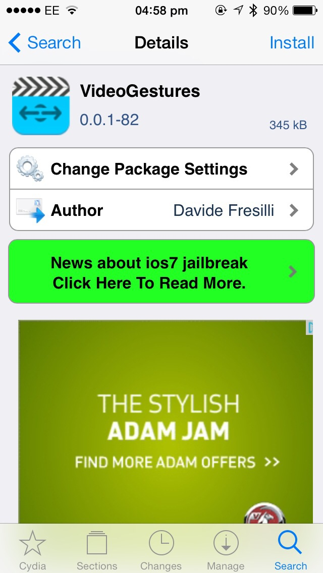 Cydia Tweak: VideoGestures Adds Useful Swipe Controls To iOS Video Playback