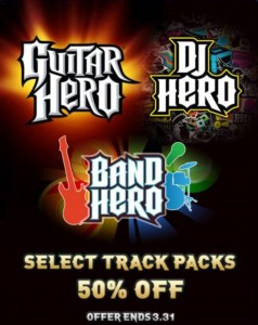 Activision Is Pulling The Plug On All DLC For Guitar Hero, DJ Hero And Band Hero