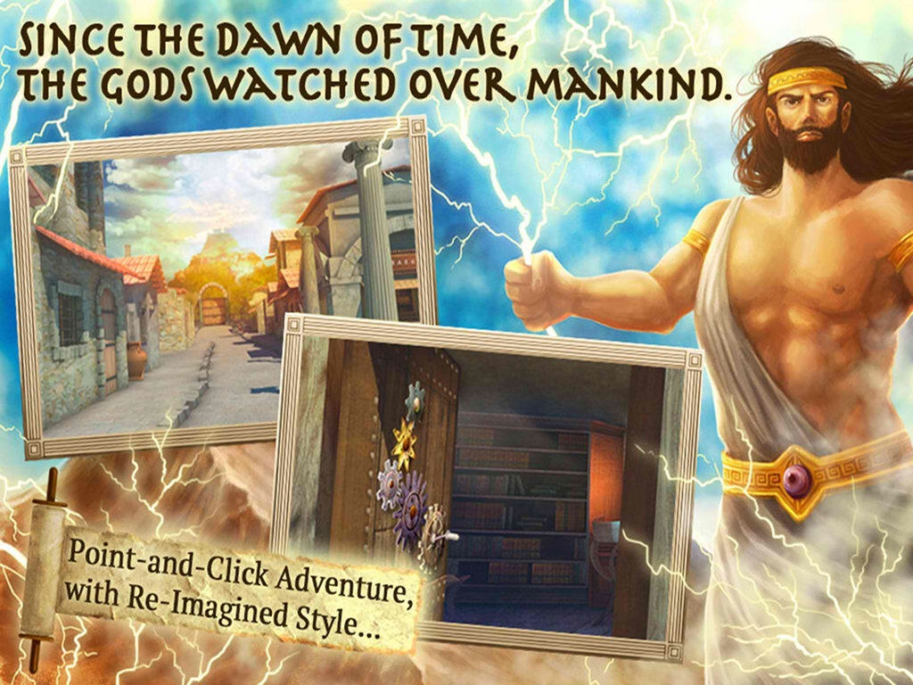 Point And Click To Find The Missing Gods And Become The Hero In Mount Olympus