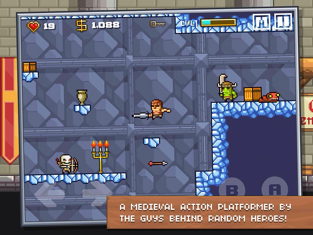 Ravenous Games' Medieval Action Platformer Devious Dungeon Is Out Now On iOS