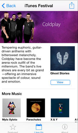 Apple Updates iTunes Festival App For SXSW, Still No iOS 7.1