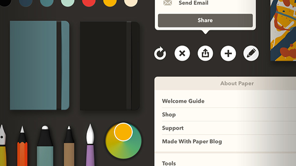 FiftyThree Updates Paper With An iOS 7 Design And More