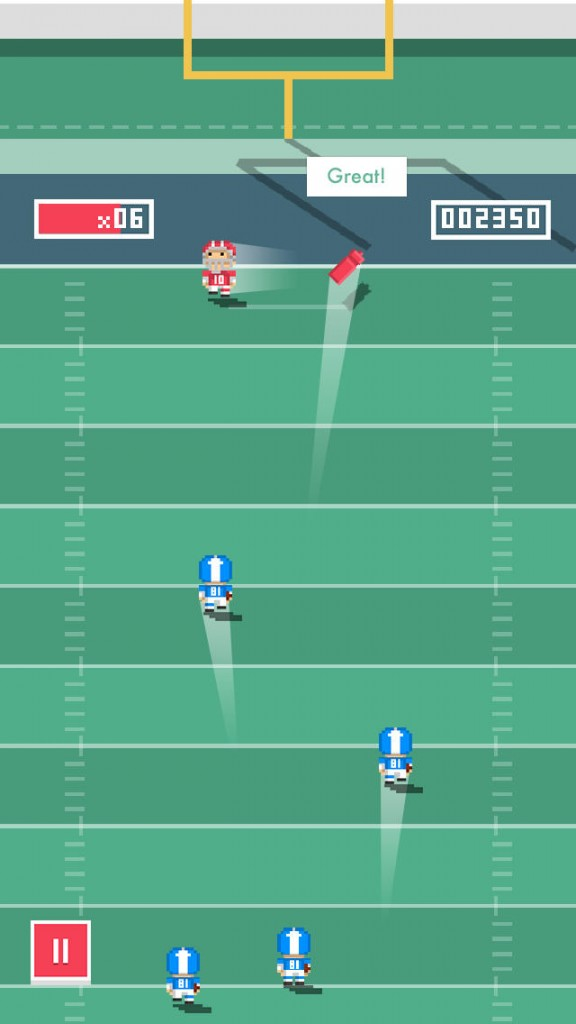 Can You Stop The Offense With Your Defensive Skills In Tiny Touchdown?