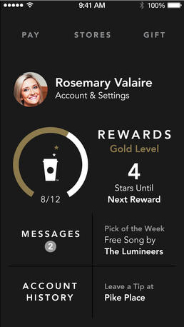 Starbucks Updates Its App With An iOS 7 Design And More