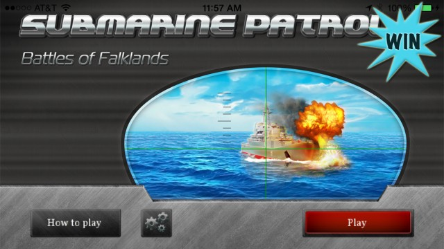 Win A Copy Of Submarine Patrol And Take Down Ships To Become Fleet Admiral