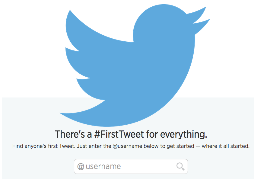 Twitter Prepares For Its 8th Birthday By Introducing First-Tweets Website