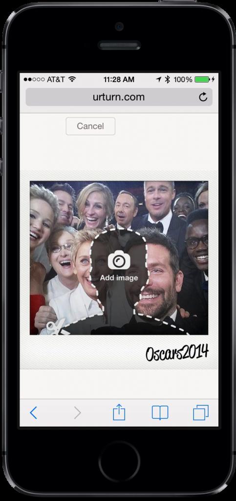 Party With Meryl, Ellen And Other Celebrities Using Urturn's Oscar Selfie Tool