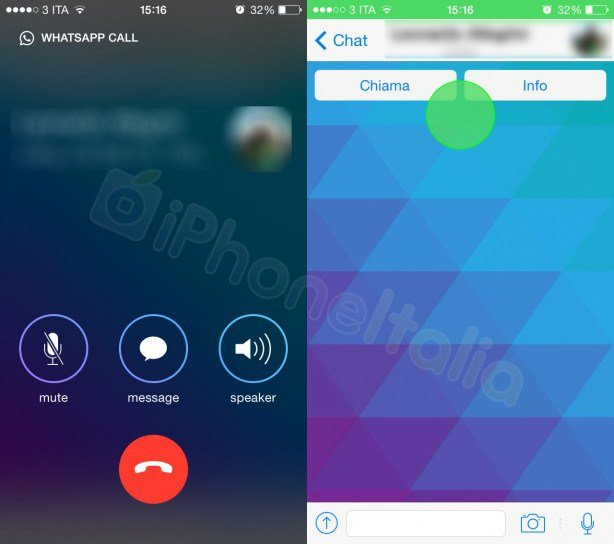 New Images Purportedly Show WhatsApp's New Voice Calling Feature