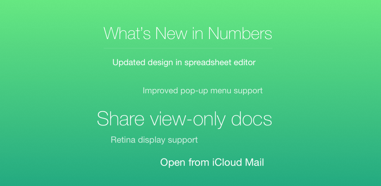 Apple Launches Updates For All Of The iWork Applications