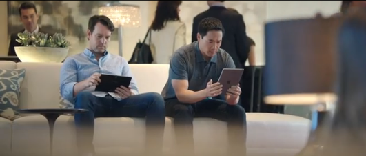 Samsung's Latest Ads Mock Apple's iPad, Of Course