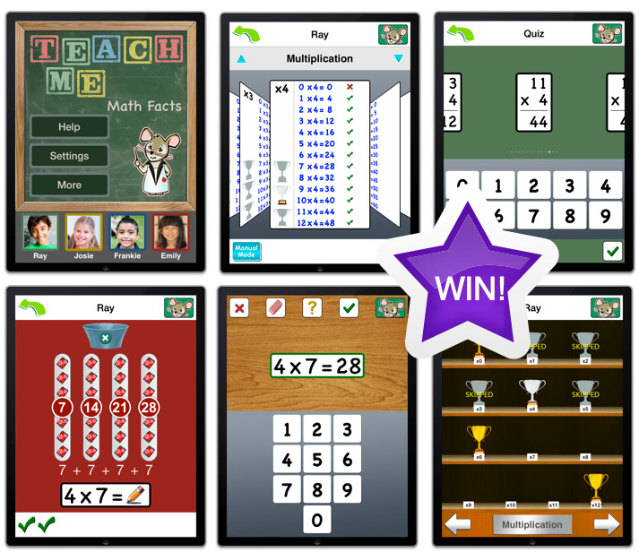 Win A Copy Of TeachMe: Math Facts And Watch Your Child's Mind Grow