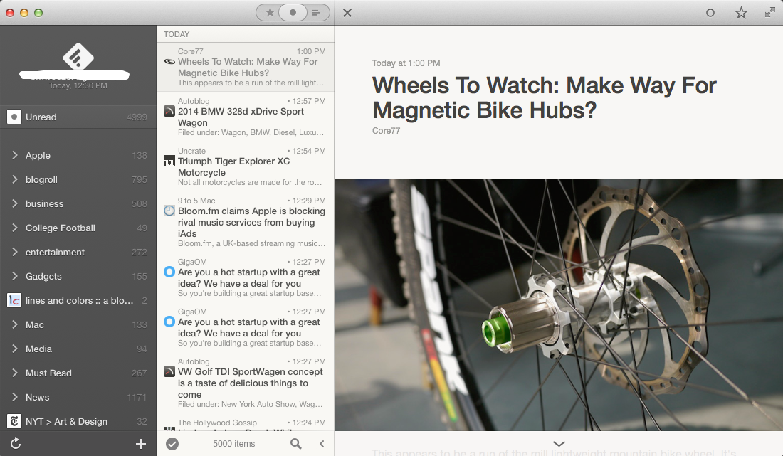 Reeder 2 For Mac Launches As A Free Public Beta