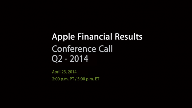 Numbers To Consider Ahead Of Apple's Second Quarter FY2014 ...
