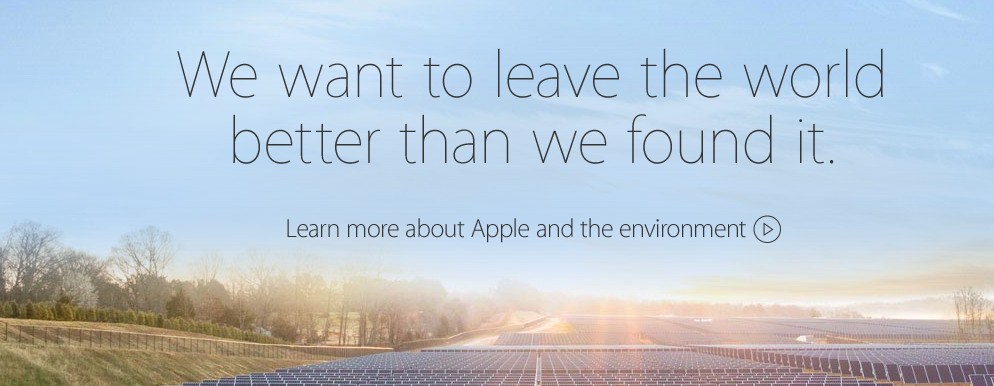 Apple CEO Cook Explains His Company's Commitment To The Environment In A New Video