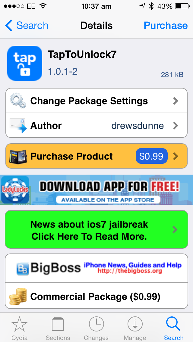 Cydia Tweak: How To Unlock iOS Devices With A Simple Tap