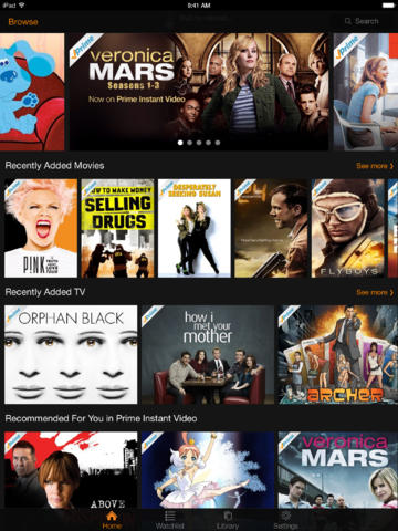 At Long Last, Amazon Instant Video Gets Updated And Redesigned For iOS 7