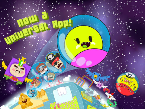 Captain Bubblenaut Gains More Bounce As It Goes Universal For iPad