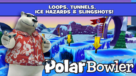 Chill Out With PB And J In Polar Bowler, A Bowling Game Like No Other