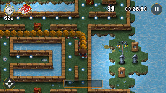 Help A Millipede Learn How To Fly In Millie, A Fun New Puzzler For iOS
