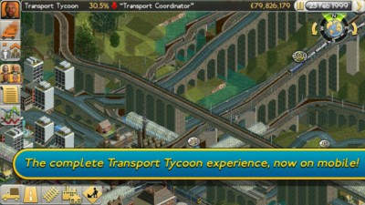 A Transport Tycoon Update Has Just Rolled Into The App Store