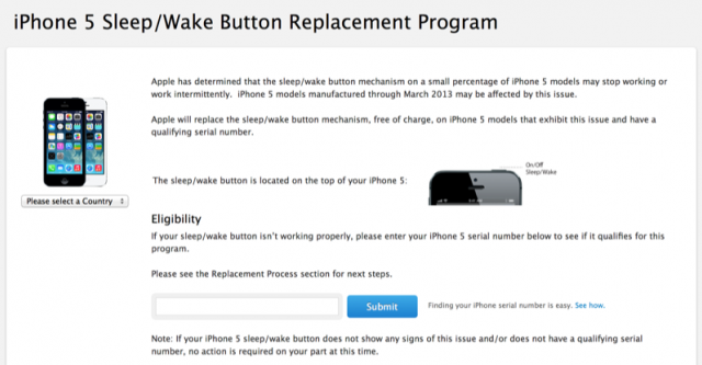 If Your iPhone 5 Has A Faulty Sleep Button It Could Be Worth An Extra $80