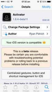 Cydia Tweak: Activator Beta Updated To Add Speech Synthesis