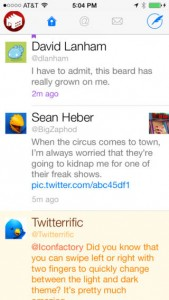 Twitterrific Adds A Smart 'Edit Tweet' Button To Its iOS App