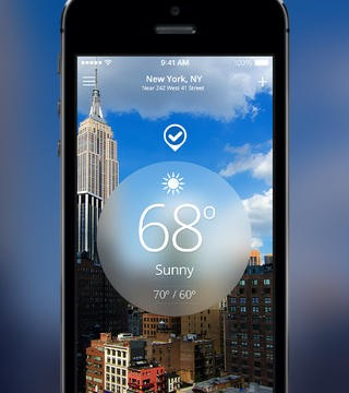 The Weather Channel Unveils A Brand New iOS 7 Redesign
