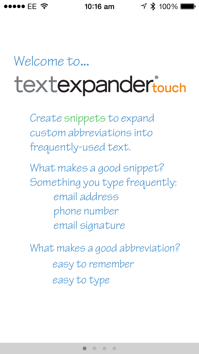 TextExpander Gets Updated For iOS 7, Adds A Number Of New Features