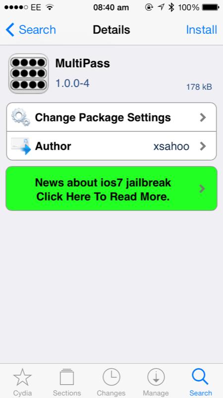 Cydia Tweak: MultiPass Brings Multiple Passcodes To Apple's iOS