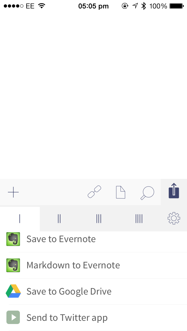 Drafts Update Adds Google Drive Actions, Background App Refresh And More