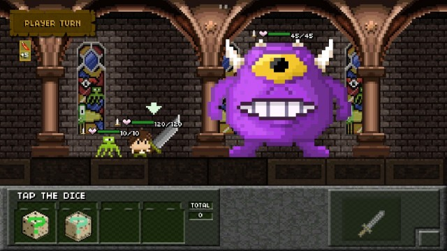 Tiny Dice Dungeon Is A Unique Turn-Based RPG Of Epic Proportions