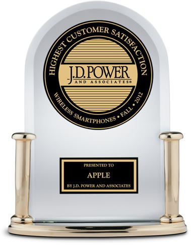 Apple Tops J.D. Power's Latest Customer Satisfaction Survey