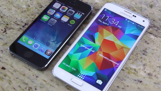 New Video Compares Fingerprint Scanning On iPhone 5s, Galaxy S5