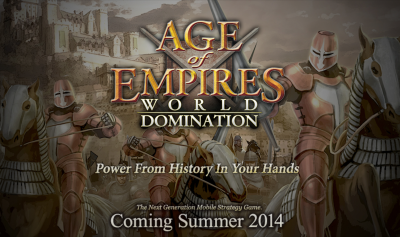 Age Of Empires: World Domination For iOS Is Set To Launch This Summer