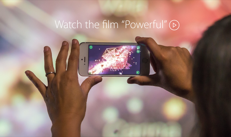 Apple's Latest 'Powerful' iPhone Ad Focuses On Its Flagship iPhone 5s