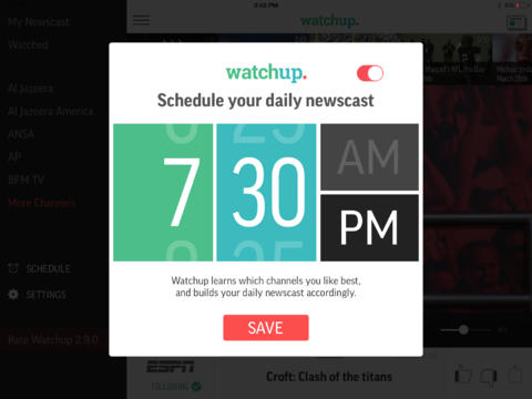 Watchup 3.0 Introduces New Design With New Features For Your Personalized Newscast