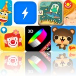 Today's Apps Gone Free: Shiny Party, Flash Reader, Peekaboo Universe And More