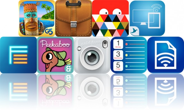 Today's Apps Gone Free: The Island: Castaway, Briefcase Pro, Beautiful Mosaic And More