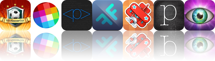 Today's Apps Gone Free: Mini Soccer Star, Pixology, PageStudio And More