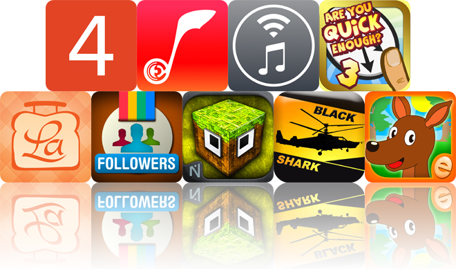 Today's Apps Gone Free: Quick 4, TunesFlow, AirMusic And More