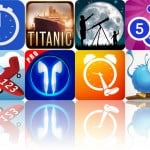 Today's Apps Gone Free: eyeFree Sports Stopwatch, Titanic: Her Journey, Distant Suns And More