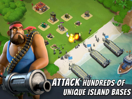 Boom Beach Receives A Big Upgrade With Balance Changes And Other Improvements