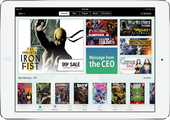 What Will Happen To The Comics App Now That Amazon Is Buying ComiXology?