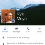 Facebook Update Brings Three New Features