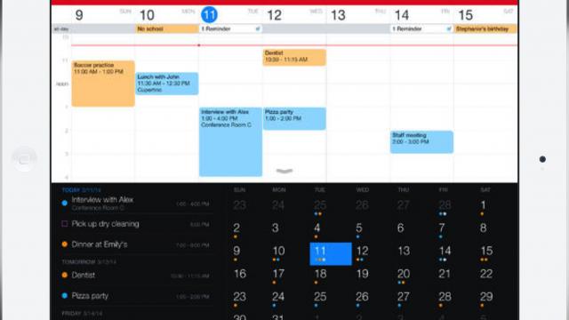 The Fantastical 2 For iPad Calendar App Makes Its Debut
