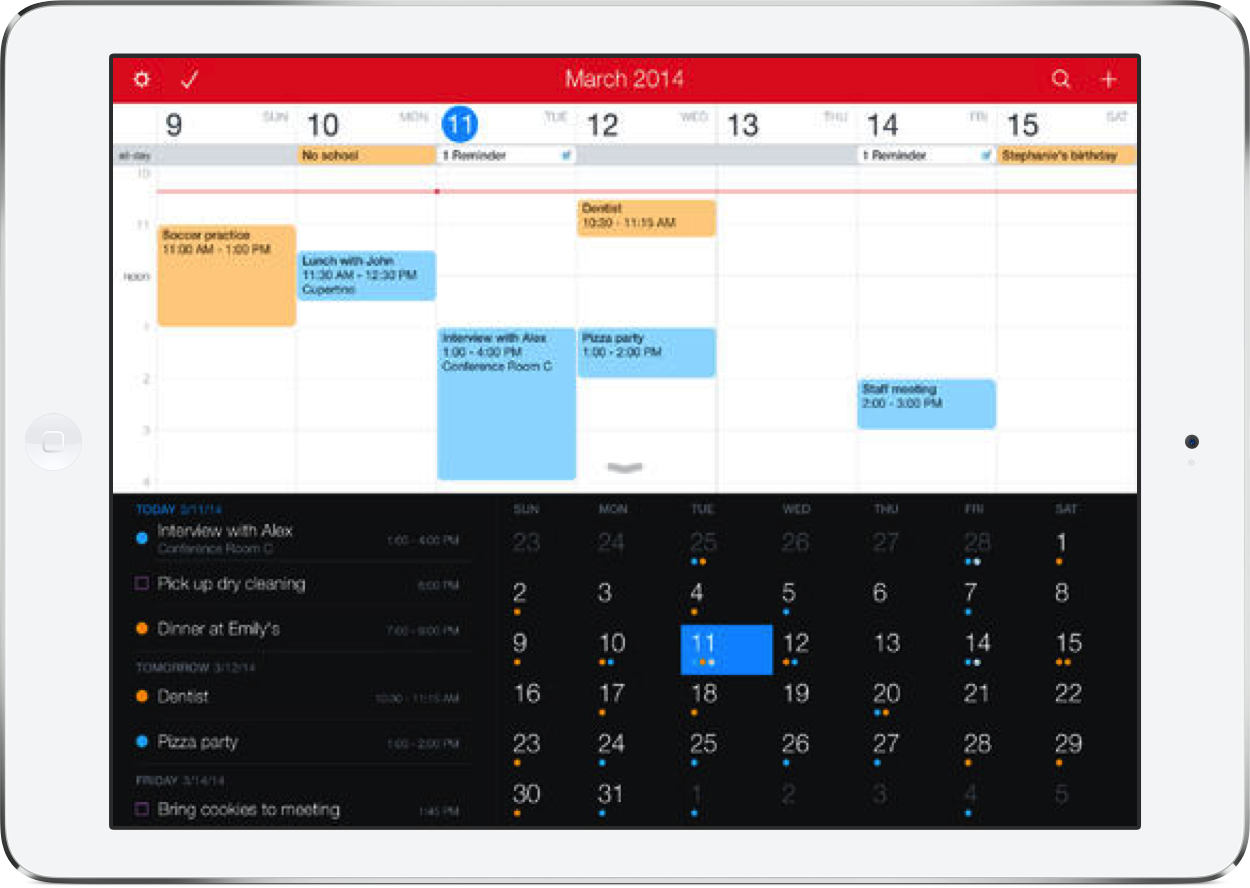 The Fantastical 2 For iPad Calendar App Makes Its Debut