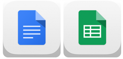 Take That Microsoft: Google Docs And Google Sheets Launch In Apple's App Store