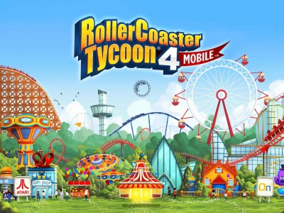 Will RollerCoaster Tycoon 4 Mobile Be Atari's Next Sensation?