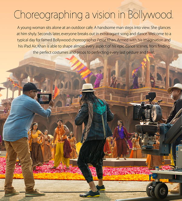 Apple's Newest 'Your Verse' Story Shows How The iPad Helps A Bollywood Choreographer